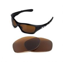 NEW POLARIZED BRONZE REPLACEMENT LENS FOR OAKLEY PIT BULL SUNGLASSES